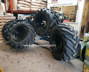 Thwaites 6 ton dumper Wheels and Tyres Set Of 4