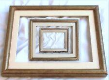 C14H Luce 28,8X23,6 cm CORNICE BAROCCO DORATA ANTICATA+ PASS FIRMATA medippolito
