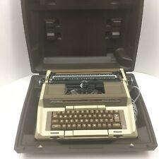 Smith-Corona Coronamatic 2500 Electric Typewriter Working with Case