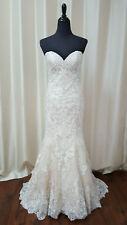 Morilee Melrose 8193 Ivory Light Gold Mermaid Trumpet Wedding Dress Sweetheart