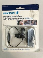 SONY ERICSSON PORTABLE HANDSFREE WITH ANSWERING BUTTON HPB-10 BRAND NEW