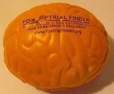 "Michael J. Fox Trial Finder 2.75"" Orange Rubber Brain Promotional"