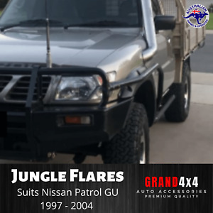 JUNGLE FENDER FLARES FOR NISSAN PATROL GU Y61 Series 1/2/3 1997-2004 GUARD COVER