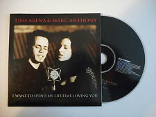 TINA ARENA & MARC ANTHONY : I WANT TO SPEND MY ... [ CD SINGLE PORT GRATUIT ]