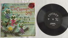 The Three Happy Crickets - 78rpm single 7-inch – Cricket #CX-18 The Chipmunk Son