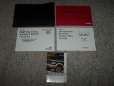 isuzu car truck owner operator manuals for sale ebay rh ebay com User Guide Template User Guide Icon
