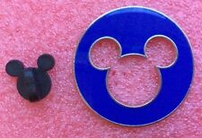 Pins DISNEY Personnage MICKEY MOUSE Rond Bleu