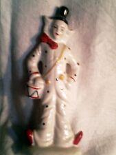 petit clown porcelaine - tres bon etat - decoratif - hauteur 18 cm hauteur