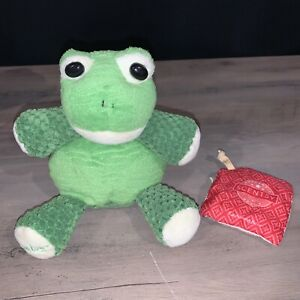 Scentsy Buddy Ribbert the Frog MINI plush stuffed animal Scent Pak included