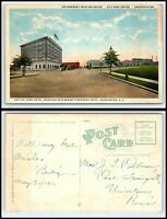 WASHINGTON DC Postcard - Capitol Park Hotel, Also Post Office, Union Station M30