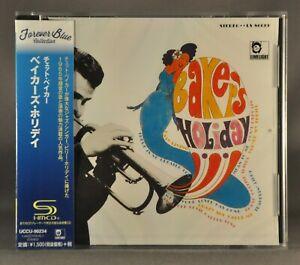Chet BAKER Baker's Holiday Orig. 2016 JAPAN Plastic Case SHM-CD UCCU-90234 SHMCD