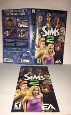 The Sims 2 PSP Original Replacement Artwork & Manual