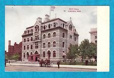 Estate 1910 CITY HALL Lincoln NEBRASKA NE with Horse and Buggy Postcard Posted