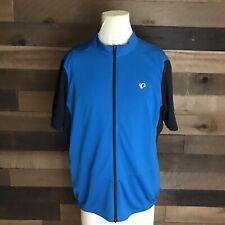 Pearl Izumi Select Black And Blue Cycling Jersey Mens Xl
