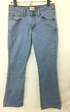 Levi's Women's Medium Wash Slim Boot Jeans! 5 Pocket, Leather Badge. Size 4S WOW