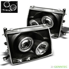 For 97-00 Tacoma 2WD 98-99 4WD Dual Halo LED Projector Headlights Head Lights