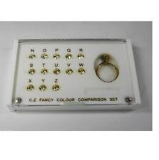 Diamond Colour Grading Comparison Set N-Z Color Set of 13 - TD1011