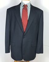 Brooks Brothers 346 Stretch 44R Pinstriped 2 Button Vented Sport Coat Blazer