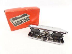 Vintage Pocket Binoculars in original box 2.5 x 25mm
