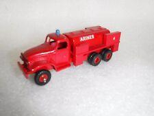 Vintage Kit Built Fire Rescue Tanker Truck