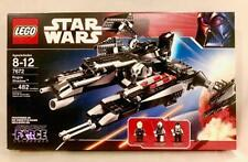 Retired Lego STAR WARS 7672 Rogue Shadow-100% complete w/ box,manual, 3 minifigs