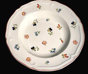 Villeroy Boch Petite Fleur Large Rimmed Soup Bowl