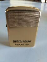 VINTAGE PARK ADVERTISING LIGHTER micro-poise Wixom, Mich, USA Goldtone FREE Ship