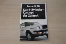 182926) Renault R 30 Prospekt 197?