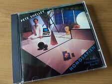PETE SHELLEY - Homosapien  w/ XL-1 songs CD - 1997 Razor&Tie Telephone Operator