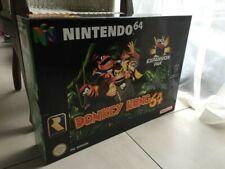 RARE ! Donkey kong 64 Display big box  Nintendo 64 Promotional PLV Display Sign