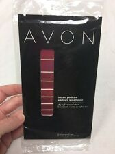 AVON INSTANT PEDICURE STRIPS Reddy To Go ^