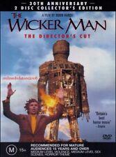The WICKER MAN Edward WOODWARD Brit EKLAND Christopher LEE (2 DVD SET) Region 4