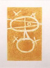 """Georges BRAQUE LTD ED vintage monté Lithographie, Mourlot, 1963, 12 x 10"""" GB034"""