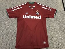 2004-2006 Fluminense Red Jersey Adidas Small P S Red Alternate Third Away Kit
