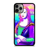 LISA FRANK MONALISA  iPhone 6/6S 7 8 Plus X/XS XR 11 Pro Max Case Cover