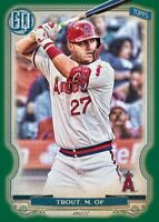 Pre-Sell 2020 Topps Gypsy Queen Base Team Set Baseball Cards U You Pick List