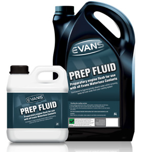 EVANS Prep Fluid Waterless Engine Coolant Flush Race Rally Drift Track 2L Litres