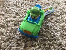 Fisher Price Wheelies Little People Green Tow Truck