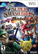 Super Smash Bros. Brawl Nintendo Wii 2008 Game PAL Aus Fighting Multiplayer