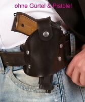 Pistolenholster ohne Gürtel / Polizei Holster / Cop Gürtelholster / Karneval