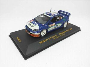 IXO 1:43 - RAM212 Peugeot 307 WRC #7 Rally Monte Carlo 2006 M.Stohl - I. Minor