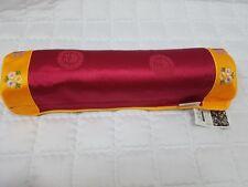 Korean traditional buckwheat neck pillow red&yellow home deco comfortable sleep