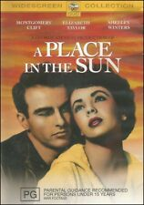 A PLACE IN THE SUN Montgomery CLIFT Elizabeth TAYLOR Shelley WINTERS DVD NEW R4