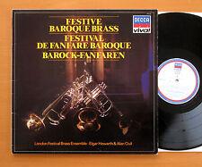 Festive Baroque Brass London Festival Brass Ensemble DECCA VIV 47 Stereo