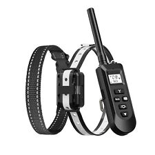 Dog Training Collar Receiver & Rechargeable Remote Control Collars with 3 Modes