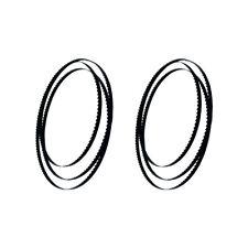 """80"""" X 1/2"""" X 0.02"""" hojas de sierra de cinta, de acero al carbono 2PCS para carpintería"""