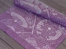 Colorkitchen mesa alfil japón paraguas en púrpura 50 x 60 cm 100% lino