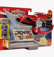"Power Rangers Super Megaforce 10"" Electronic Super Mega Saber New Factory Seal"
