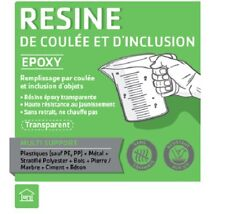 Résine Epoxy de Coulée Transparente pour Table Rivière Kit 5 kg - Jusqu'à 50 mm