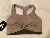New Women's Champion C9 Duo Dry Gray Athletic Sports Bra Size XS
